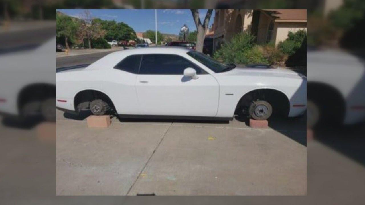 Tire thief targets Westside Albuquerque neighborhood
