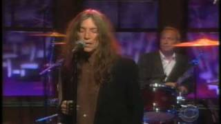 "Patti Smith-Craig Ferguson Show ""Soul Kitchen"" June 2007"