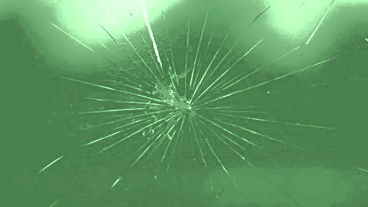 greenscreen cracked glass youtube