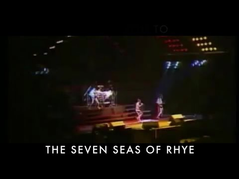 Queen - Seven Seas Of Rhye (Official Lyric Video)