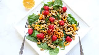 Eat your greens to fit into your jeans! Salad Always and Forever  Video Recipe | Bhavna's Kitchen