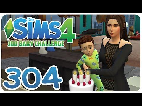 DIE SIMS 4: 100 BABY CHALLENGE #304 ZWILLINGS-GEBURTSTAG! :O ☆ Let's Play