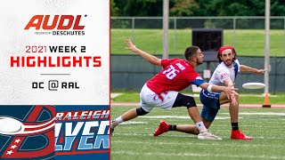 DC Breeze at Raleigh Flyers   Week 2   Game Highlights
