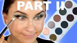 DARK MAGIC PALETTE REVIEW! JACLYN HILL X MORPHE VAULT! | Beauty Banter