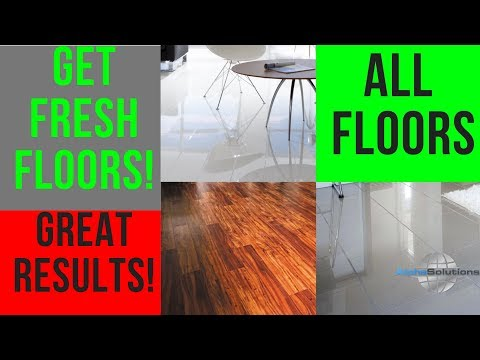 How To Clean Hardwood Floors/Laminate Floors/Tile Floors-BEST WAY To GET FRESH Floors-ALWAYS WORKS!