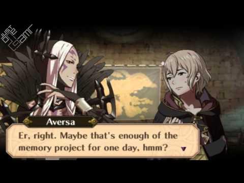 Fire Emblem Awakening - Aversa & Morgan (Female) Support Conversations