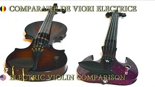 ZETA vs. WOOD vs. EQUESTER vs. BARBERA - Electric Violins Comparision