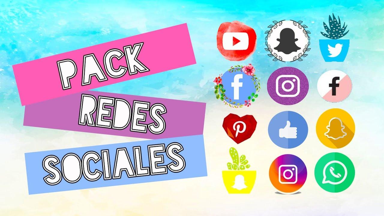 Redes Sociales / Iconos Redes Sociales