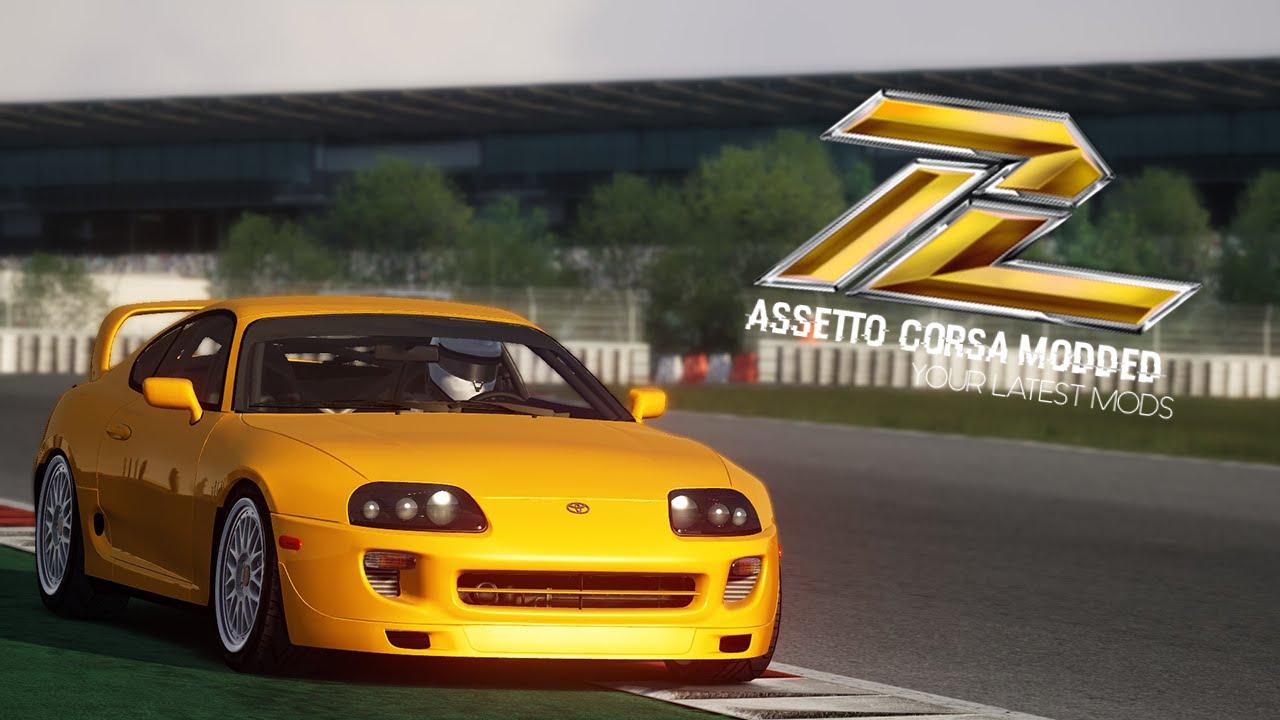 2015 Toyota Supra >> Assetto Corsa - Toyota Supra TRD Turbo + DOWNLOAD - YouTube