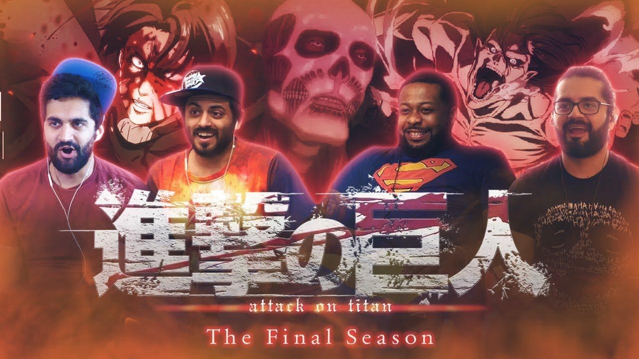 Download Attack on Titan - Season 4 The Final Season - Trailer Reaction