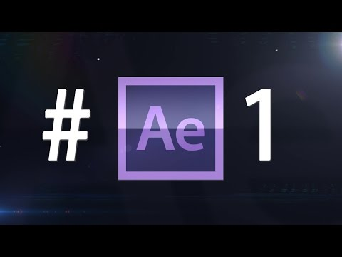 Adobe After Effects Tutorial - 1.rész Kezelőfelület