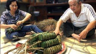 Cách GÓI BÁNH TÉT của người Sài Gòn để đón Tết 2019 !