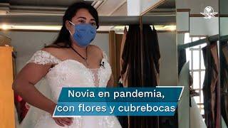 A causa de las bajas ventas, vendedores de la calle República de Chile, conocido como Calle de las Novias, implementan pasarelas online para que las novias elijan sus modelos favoritos