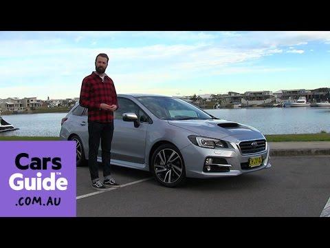 Subaru Levorg 2016 Review First Drive Video