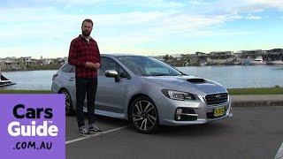 видео 2015 Subaru levorg: первый обзор