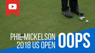 Phil Mickelson blows up at 2018 US open
