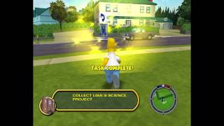 The Simpsons Hit & Run. Part1 begining