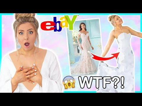 trying-on-cheap-wedding-dresses-from-ebay-!-success-or-disaster-!