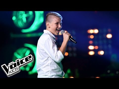 "Kamil Kilian – ""Walks Like Rihanna"" – Przesłuchania w ciemno – The Voice Kids Poland"