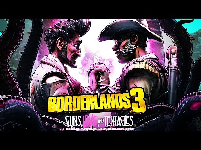 Borderlands 3: GUNS, LOVE AND TENTACLES All Cutscenes (DLC) Game Movie 1080p 60FPS