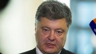 Ukrainian President Poroshenko speaks on situation in Ukraine (recorded live stream)