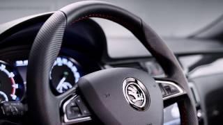 Skoda Rapid Monte-Carlo Interior Design | AutoMotoTV