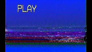 [FREE VIDEO] REAL VHS TRACKING GLITCH AND PLAY LOGO FOR EDITION  PURPOSES
