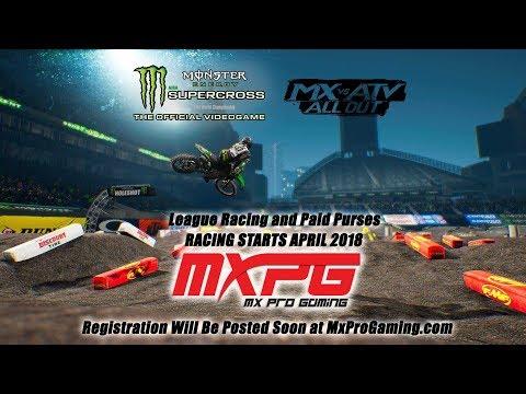 $500 CASH PURSE - MXProGaming Custom Track Championship Stream w/@theblazery