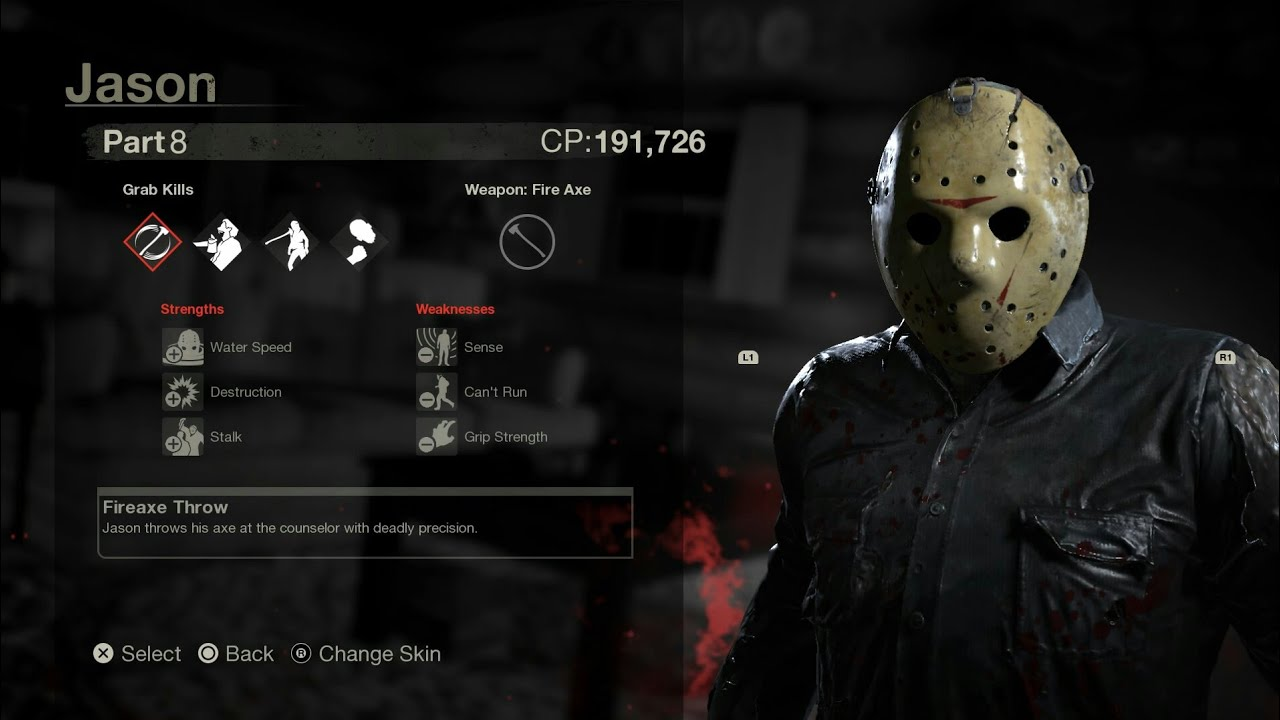 Where is the bloody version of jason? - Friday the 13th ...