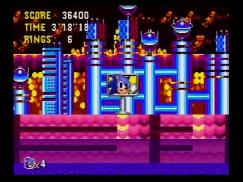 Sonic Gems Collection - Sonic CD Full Playthrough