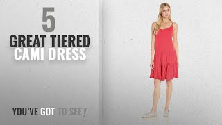 Tiered Cami Dress [ 2018 Hot Trends ]: Velvet by Graham & Spencer Women
