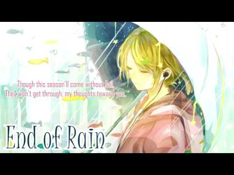 【鏡音リンKagamine Rin V2 Warm】End Of Rain【VOCALOIDカバー】