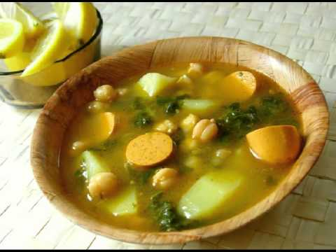 Comidas vegetarianas faciles Sopa de espinacas y