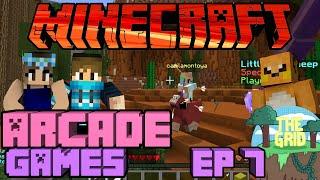 Minecraft: The Grid 23 Arcade Games Ep 7 I