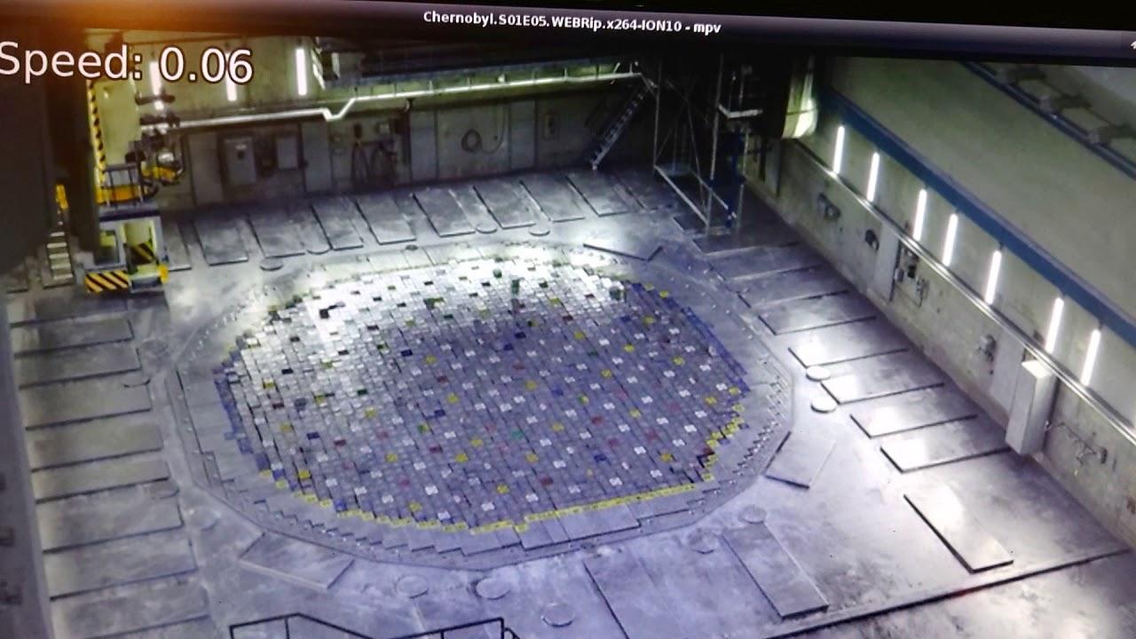 Chernobyl Series Ep5 Reactor Cap Explosion Slow Mo