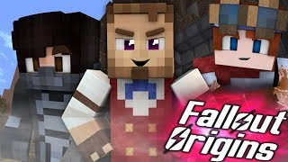 A TIME TRAVELER?  Minecraft FALLOUT ORIGINS #19 ( Minecraft Roleplay SMP )