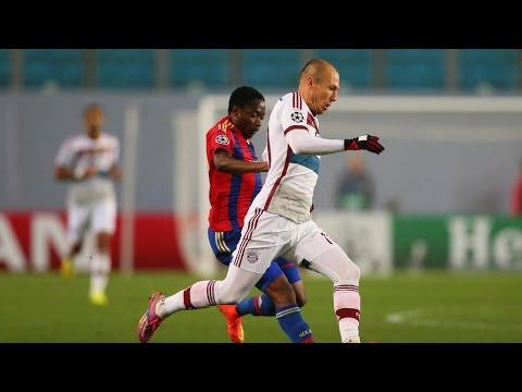 Arjen Robben - Amazing Dribbling & Runs - 2014-2015 HD