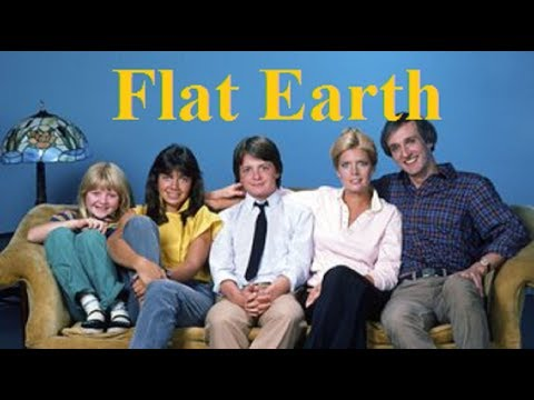 Flat Earth reference - Family Ties television show - 1982 - Mark Sargent ✅