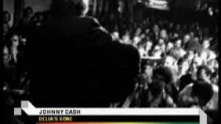 Johnny Cash - Delia - acoustic and live at Emo's Sixth Street, Austin Texas