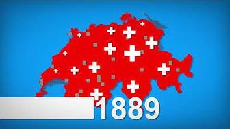 L'histoire du drapeau de la Suisse - Flag ! Les drapeaux du monde - Histoire & Géographie