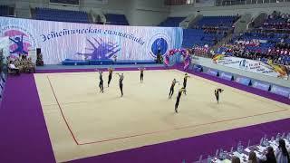 Аурелия 10-12, ВС Юные гимнастки, г.Раменское 19.04.2019