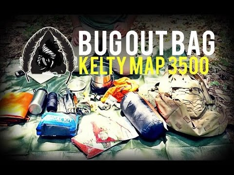 Map 3500.Bug Out Bag Kelty Map 3500