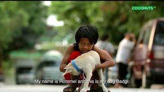 Manila Street Child's Best Friend is His Loyal Dog   Rommel & Badgi   Coconuts TV
