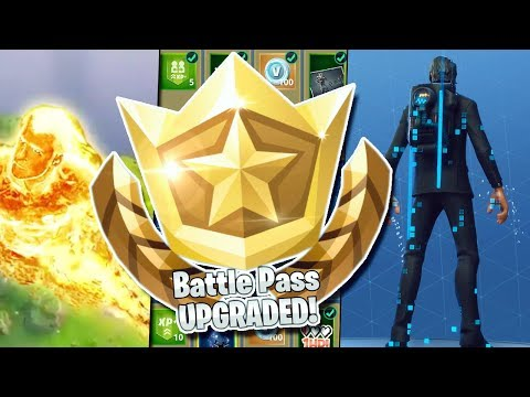 UNLOCKING ALL NEW SEASON 3 FORTNITE ITEMS! 100 TIER BATTLE PASS NEW ITEM SHOWCASE! - THE REAPER!
