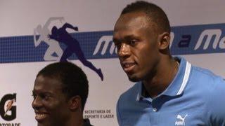 Bolt läuft an der Copacabana um 150-m-Weltrekord