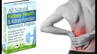 All Natural Kidney Health & Kidney Function Restoration Program Review - Does It Work or Scam?