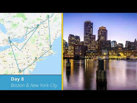 Tours4Fun Itinerary - 8 Day Best Of America And Canada Tour