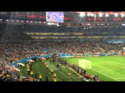Brazil 2014 World Cup Final (Maracana Stadium) - Fan Video