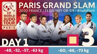 Judo Paris Grand Slam 2020: Day 1 - Tatami 3
