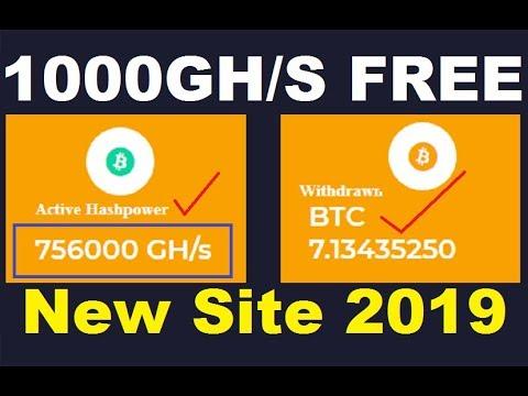 New Free Bitcoin Cloud Mining Site 2019 | 1000GH/S Free Bouns | 0.001 Bitcoin Free | FenixMine.com